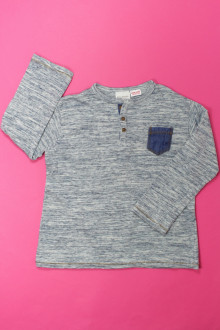 vetement d'occasion Tee-shirt manches longues  Zara 4 ans Zara