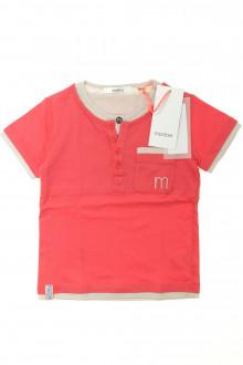 vetement d'occasion Tee-shirt manches courtes - NEUF Marèse 4 ans Marèse