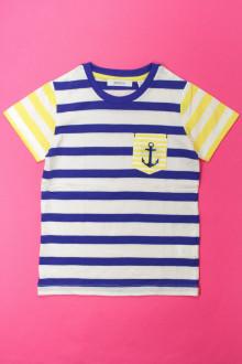 vetements enfants d occasion Tee-shirt rayé manches courtes Marèse 5 ans Marèse