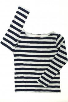 vetement occasion enfants Tee-shirt rayé manches longues Monoprix 8 ans Monoprix