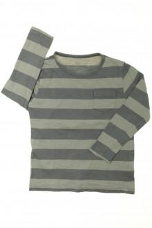 vetement enfants occasion Tee-shirt manches longues à rayures CFK 4 ans CFK