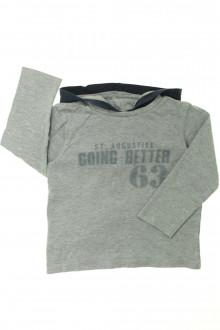 vetement d'occasion enfants Tee-shirt manches longues à capuche Tape à l'Œil 4 ans Tape à l'œil