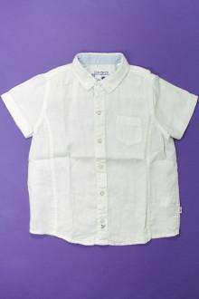 vêtements occasion enfants Chemisette en lin Okaïdi 4 ans Okaïdi