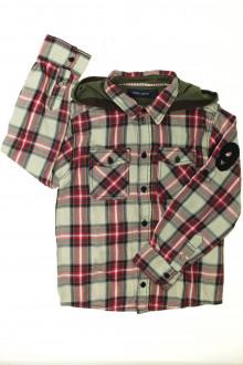 vetement occasion enfants Chemise écossaise à capuche Teddy Smith 8 ans Teddy Smith