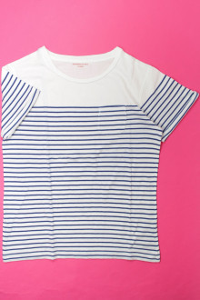 vêtements occasion enfants Tee-shirt rayé manches courtes Monoprix 10 ans Monoprix