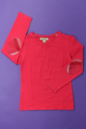 76470abe4b99 Tee-shirt manches longues Burberry Fille 5 ans d occasion sur ...
