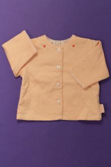 habits bébé Gilet doublé La Petite Ourse 1 mois La Petite Ourse