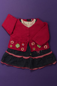 vetement bébé d occasion Ensemble robe, tee-shirt et gilet Sergent Major 1 mois Sergent Major