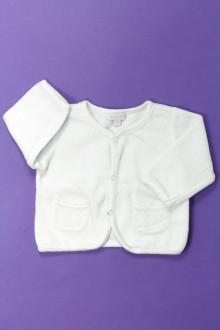 habits bébé Gilet en velours DPAM 1 mois DPAM