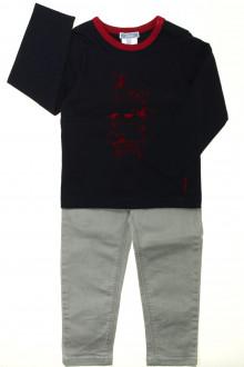 vetement d'occasion enfants Ensemble jean et tee-shirt Jacadi 3 ans Jacadi