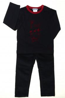 vetement  occasion Ensemble pantalon et tee-shirt Jacadi 3 ans Jacadi