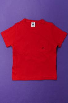 vetement  occasion Tee-shirt manches courtes Petit Bateau 3 ans Petit Bateau
