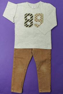vetement occasion enfants Ensemble pantalon et tee-shirt Tape à l'Œil 3 ans Tape à l'œil