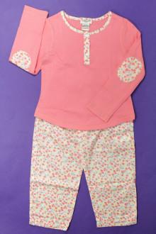 vetement d'occasion enfants Pyjama en coton fleuri Cyrillus 4 ans Cyrillus