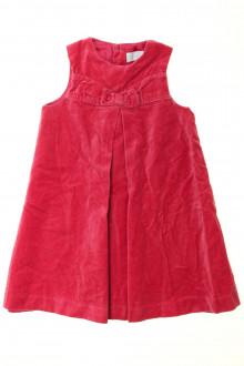 vêtement enfant occasion Robe en velours ras Tartine et Chocolat 4 ans Tartine et Chocolat