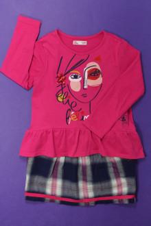 vetements enfants d occasion Ensemble jupe et tee-shirt DPAM 3 ans DPAM