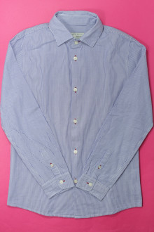 vetements enfant occasion Chemise à fines rayures Zara 12 ans Zara