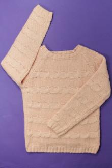 vêtements occasion enfants Pull torsadé Vertbaudet 8 ans Vertbaudet