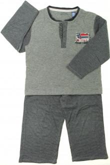 vêtements d occasion enfants Pyjama rayé en coton Okaïdi 4 ans Okaïdi