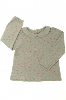 vêtements occasion enfants Tee-shirt fleuri manches longues Bout'Chou 3 ans Bout'Chou