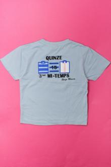 vetements enfants d occasion Tee-shirt manches courtes Petit Quinze 3 ans Petit Quinze