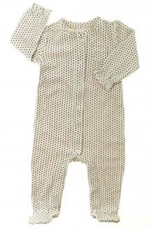 habits bébé Pyjama/Dors-bien en velours à pois Gap 12 mois Gap
