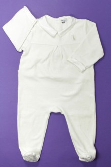 habits bébé Pyjama/Dors-bien en velours  DPAM 12 mois DPAM