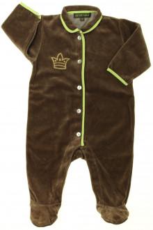 vêtements bébés Pyjama/Dors-bien en velours