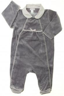 habits bébé Pyjama/Dors-bien en velours Obaïbi 6 mois Obaïbi