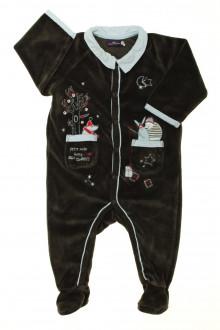 habits bébé Pyjama/Dors-bien en velours