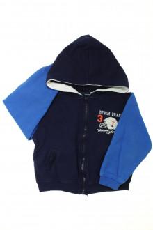 vetement enfant occasion Sweat zippé YCC214 5 ans YCC214