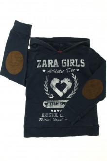 vetements enfants d occasion Tee-shirt manches longues à capuche Zara 6 ans Zara
