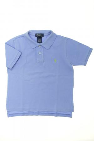Polo manches courtes Bleu ciel Ralph Lauren 4 ans