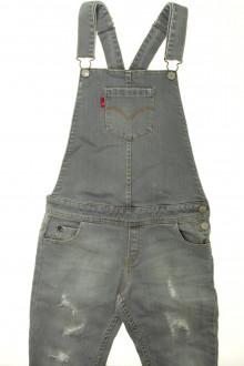 vetement occasion enfants Salopette en jean usé Levi's 12 ans Levi's