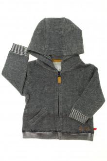 habits bébé occasion Sweat zippé à capuche Cadet Rousselle 12 mois Cadet Rousselle