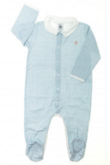 vetements d occasion bébé Pyjama/Dors-bien en coton à petits carreaux Petit Bateau 18 mois Petit Bateau