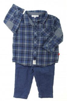 habits bébé Ensemble pantalon et chemise Cadet Rousselle 12 mois Cadet Rousselle