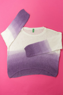 vetement d'occasion Pull tie and dye Benetton 7 ans Benetton