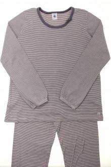 vetement occasion enfants Pyjama en coton milleraies Petit Bateau 12 ans Petit Bateau