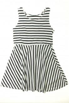 vetement marque occasion Robe rayée Zara 8 ans Zara