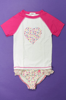 vêtements enfants occasion Ensemble bikini et tee-shirt Okaïdi 4 ans Okaïdi
