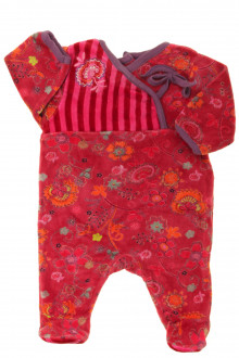 habits bébé Pyjama/Dors-bien en velours DPAM Naissance DPAM
