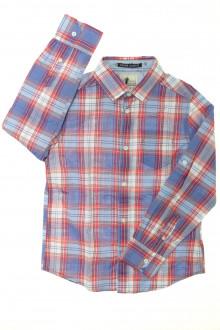 vêtements occasion enfants Chemise à carreaux Cyrillus 8 ans Cyrillus