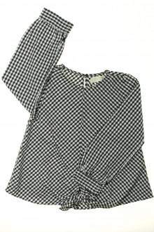vetement enfant occasion Blouse Vichy Zara 10 ans Zara