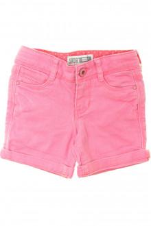 vetements d occasion enfant Short en jean de couleur Okaïdi 3 ans Okaïdi