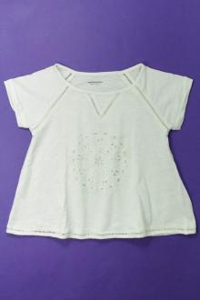 vetement occasion enfants Tee-shirt manches courtes broderie anglaise Vertbaudet 6 ans Vertbaudet