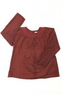 vêtement enfant occasion Blouse à pois TroiZenfants 5 ans TroiZenfants