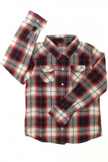 vetement occasion enfants Chemise à carreaux Cyrillus 8 ans Cyrillus
