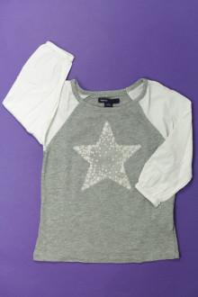 vetements enfants d occasion Tee-shirt manches longues plumetis Gap 5 ans Gap