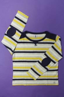 vêtements occasion enfants Tee-shirt manches longues rayé Petit Bateau 8 ans Petit Bateau